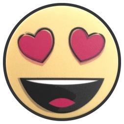 Smily Hearts Emoji Pop Socket