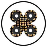 Emoji Quad Fidget Spinner