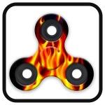 Fidget Spinner - Fire Flames