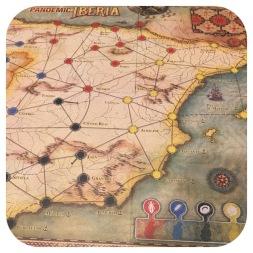 Pandemic IBERIA - Game Board