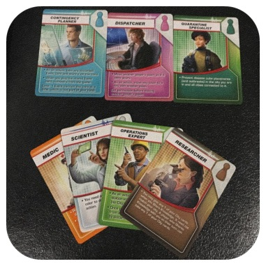 Pandemic - Role Cards