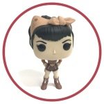 Wonder Woman Sepia Pop